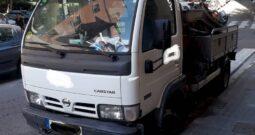 CAMION CUBA NISSAN CABSTAR 4.500 KG SUCCIÓN E IMPULSIÓN
